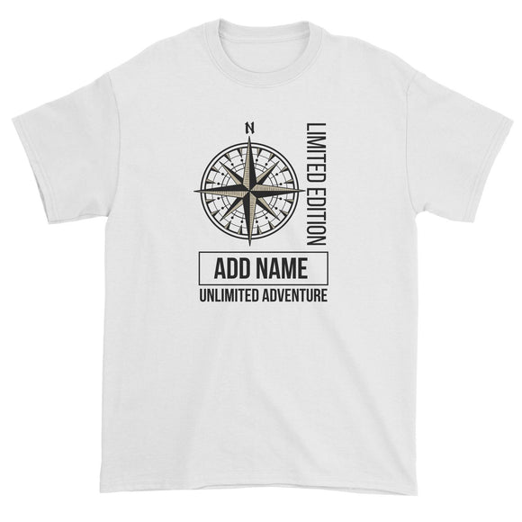 Limited Edition Compass Unlimited Adventure Personalizable with Name Unisex T-Shirt