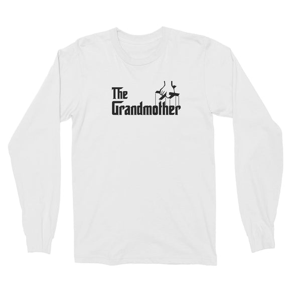 The Grandmother Long Sleeve Unisex T-Shirt Godfather Matching Family
