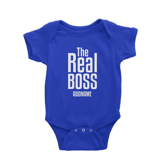 The Real Boss Baby Romper