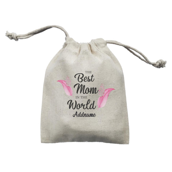 Sweet Mom Quotes 1 Love Feathers The Best Mom In The World Addname Mini Accessories Mini Pouch
