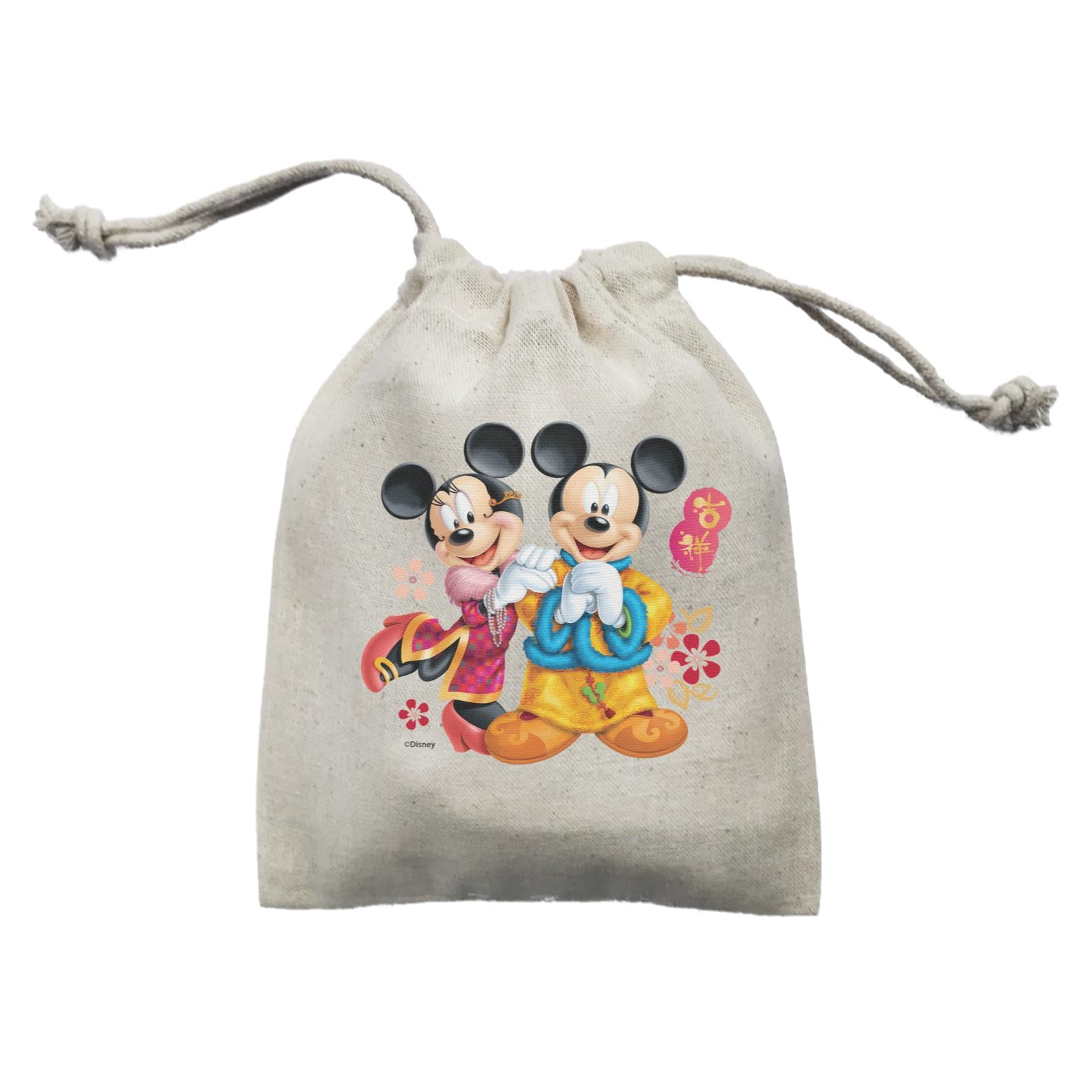 Disney CNY Mickey And Minnie Non Personalised Mini Accessories Mini Pouch