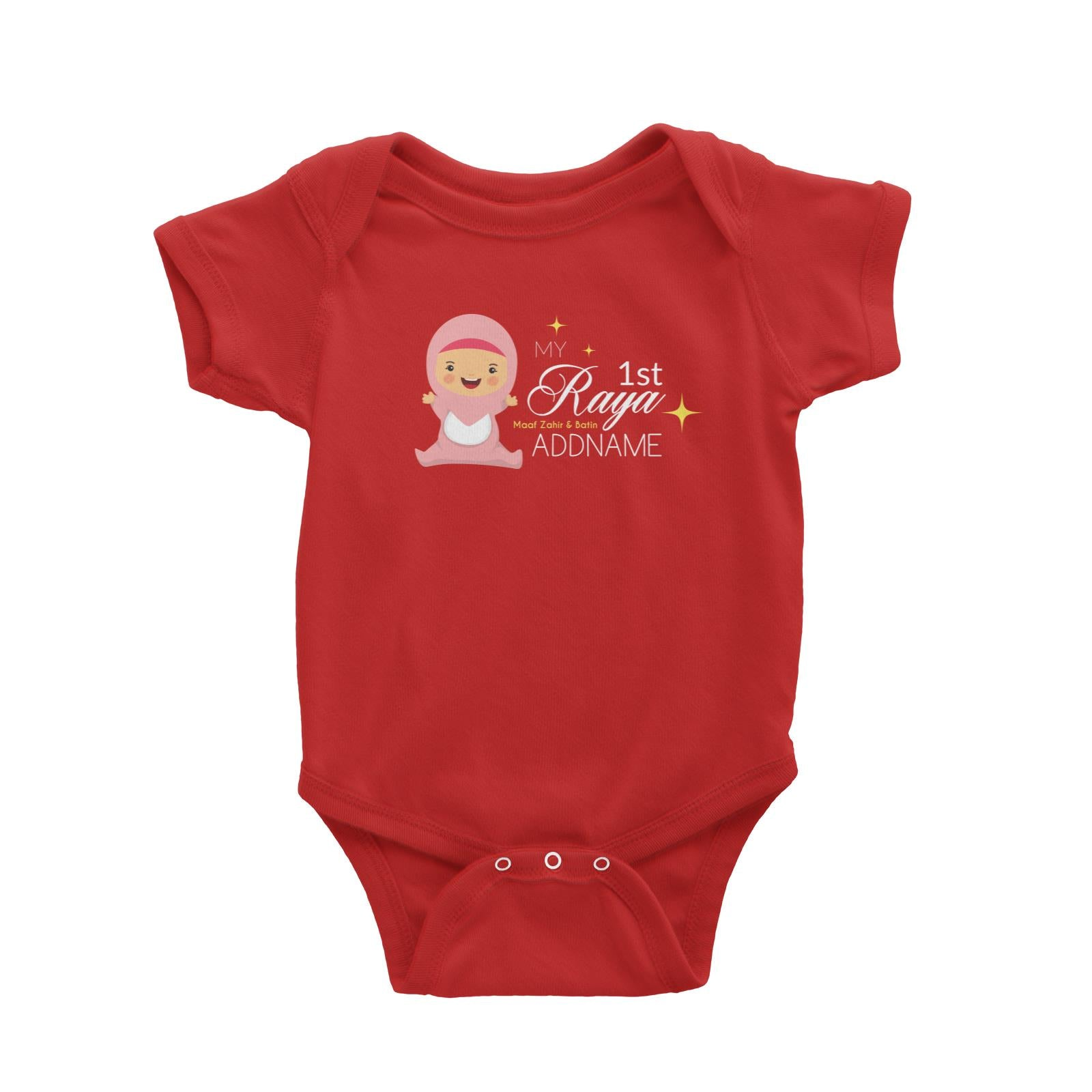 My 1st Raya Baby Girl Baby Romper  Personalizable Designs Sweet Character