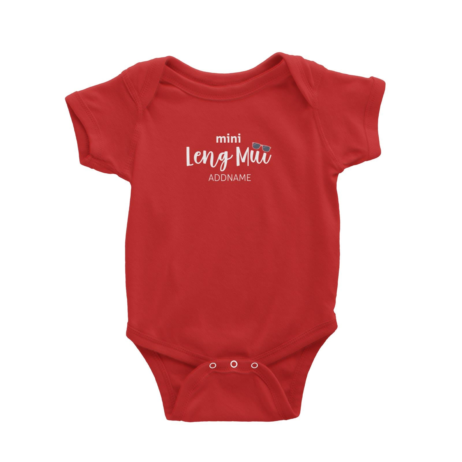 Mini Leng Mui with Sunnies Baby Romper
