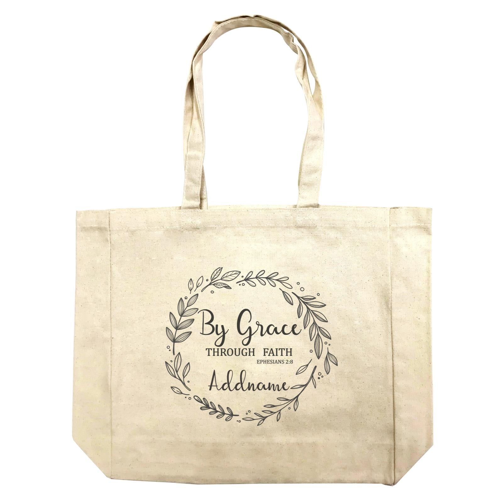 Christian Series By Grace Throug Faith Ephensians 2.8 Addname Shopping Bag