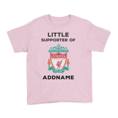 Liverpool FC Little Supporter Personalizable with Name Kid's T-Shirt