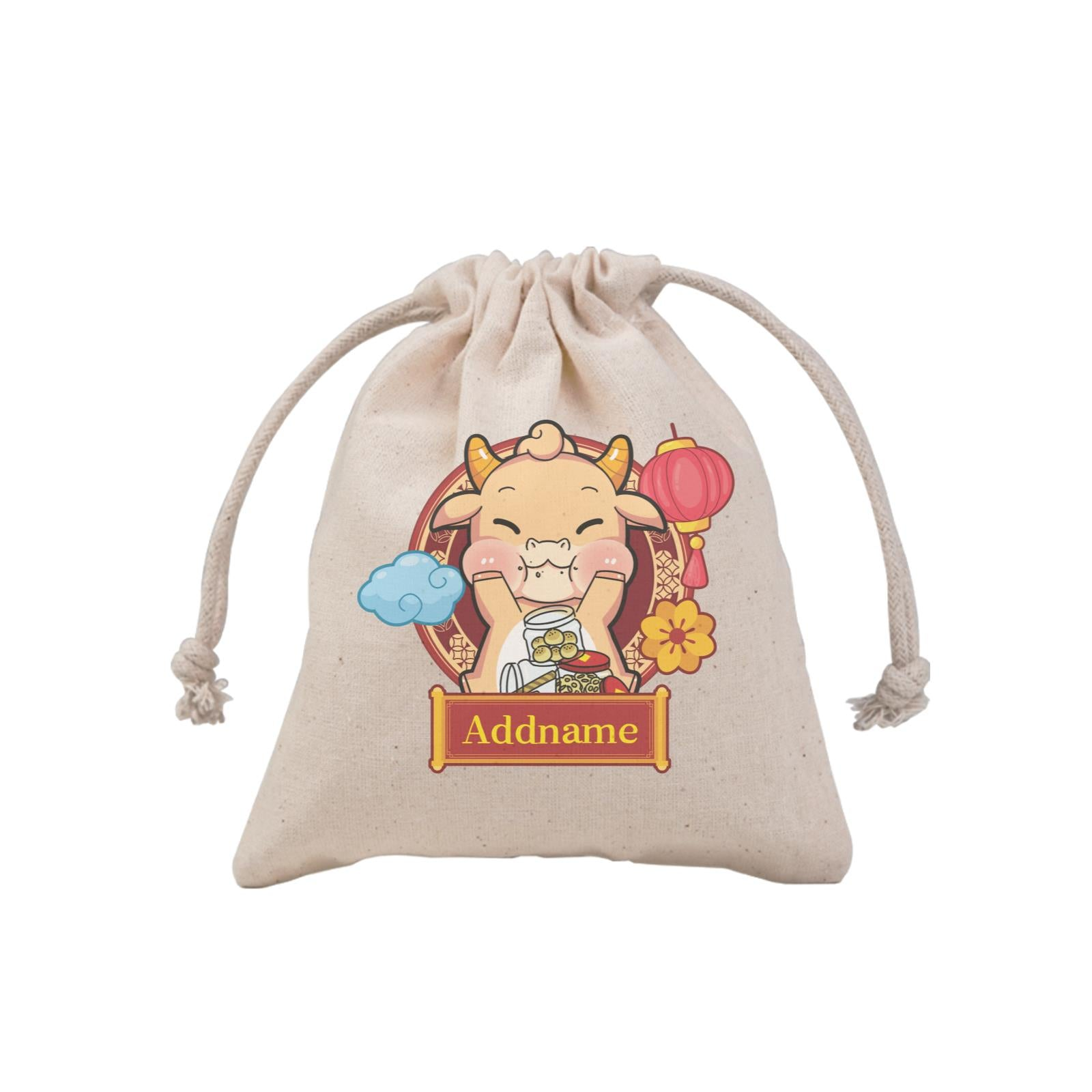 [CNY 2021] Golden Cow with New Year Treats MP Mini Pouch