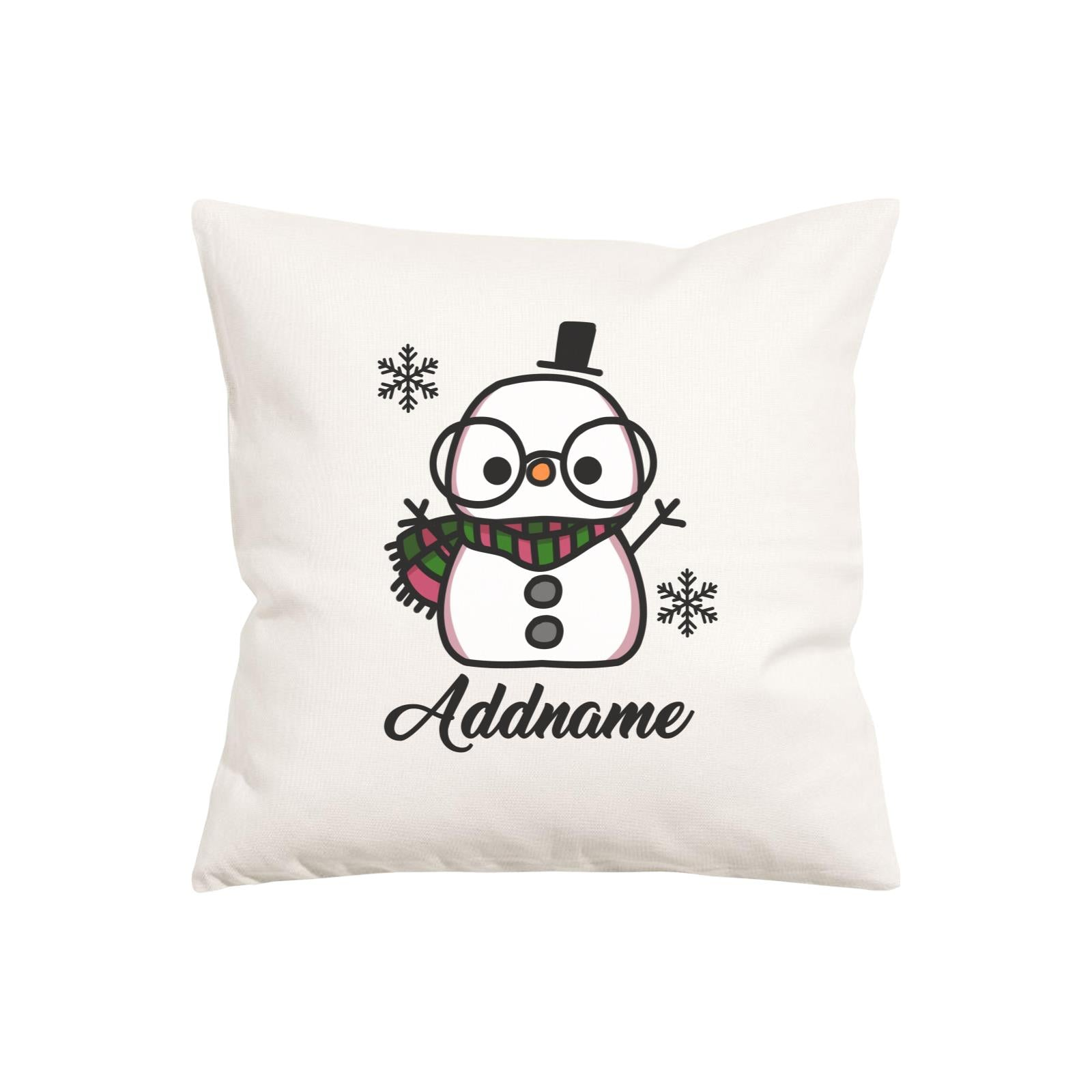 Xmas Papa Snowman Pillow Pillow Cushion
