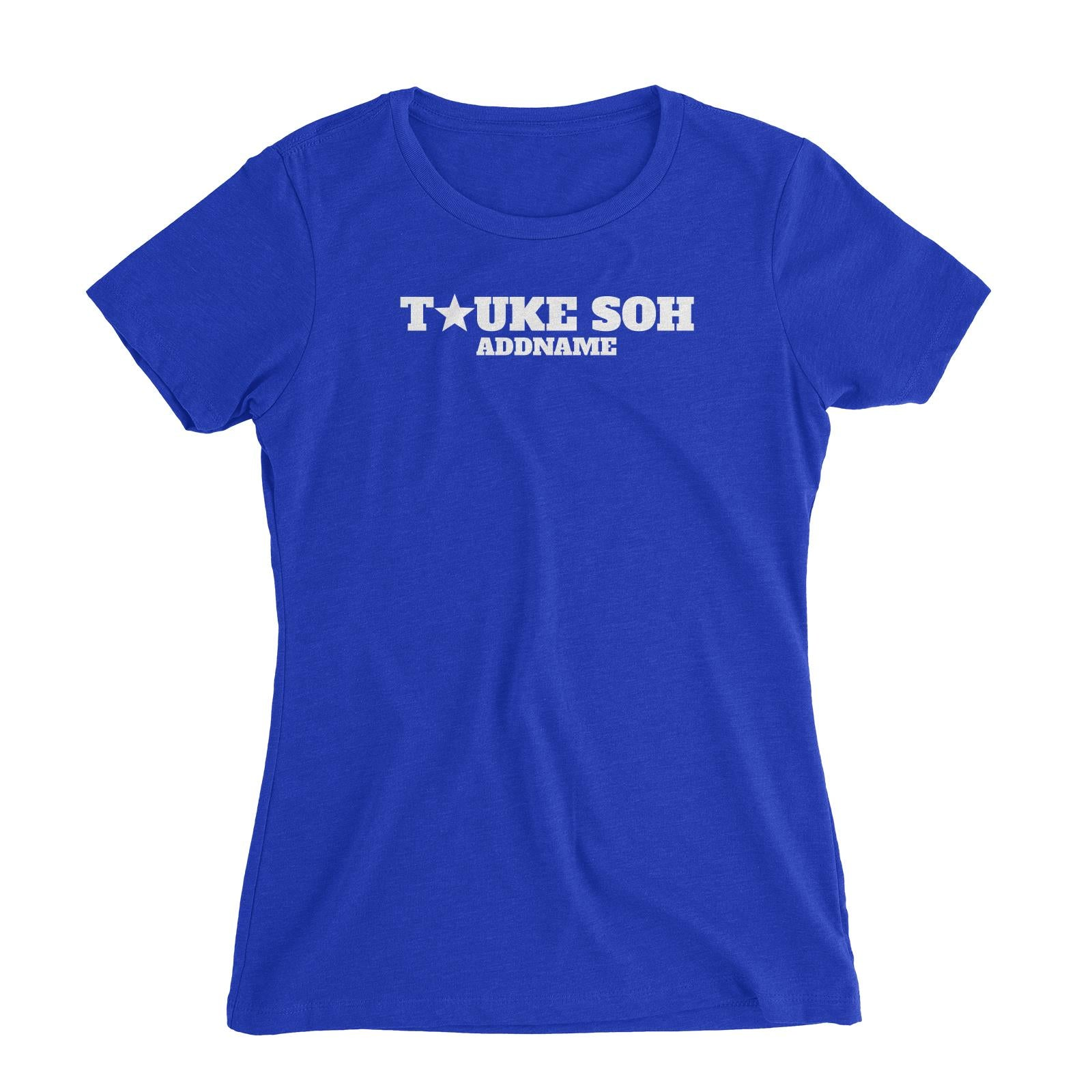 Tauke Soh Star Women's Slim Fit T-Shirt