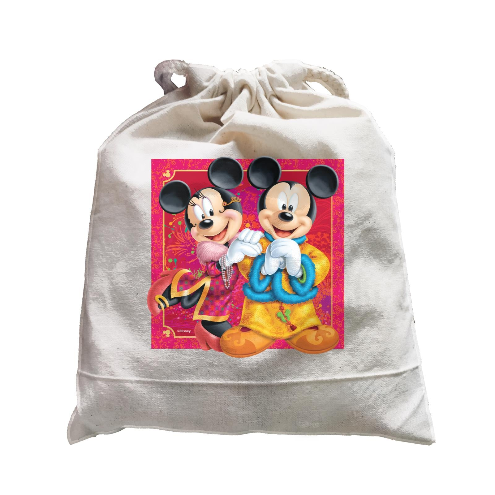 Disney CNY Mickey And Minnie Non Personalised SAT Satchel