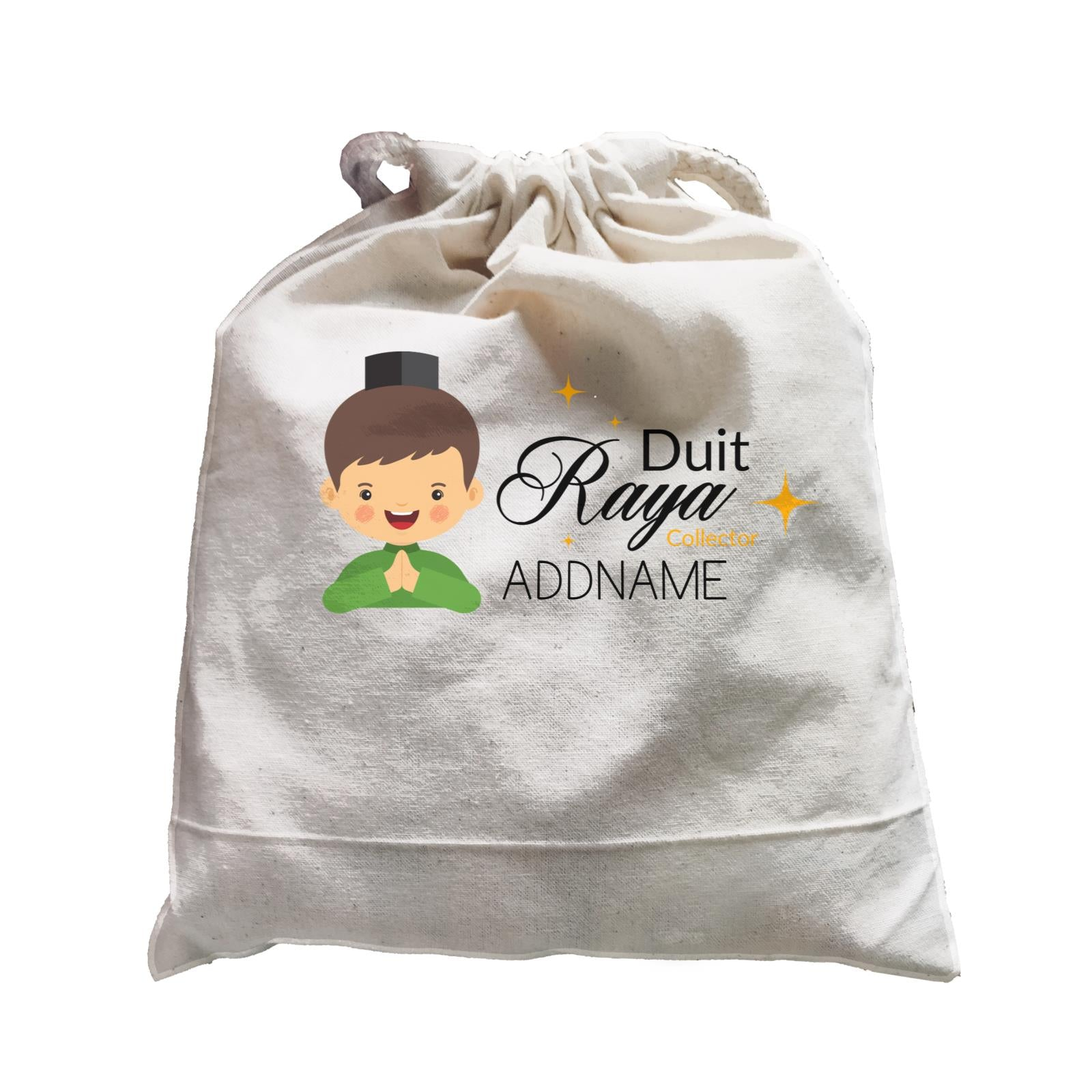 Duit Raya Collector Man Satchel  Personalizable Designs Sweet Character