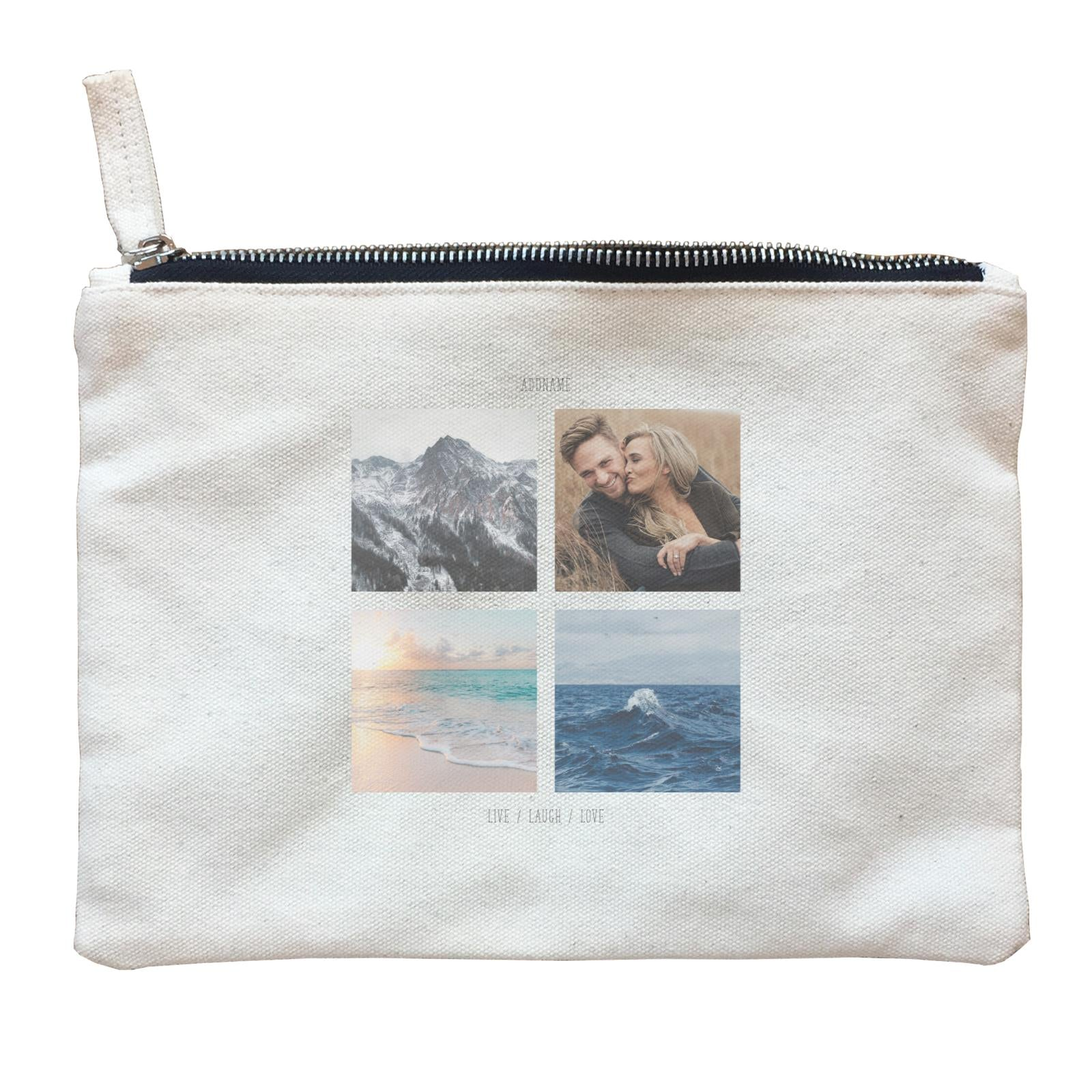 Photo Gift Series 2X2 Zipper Pouch