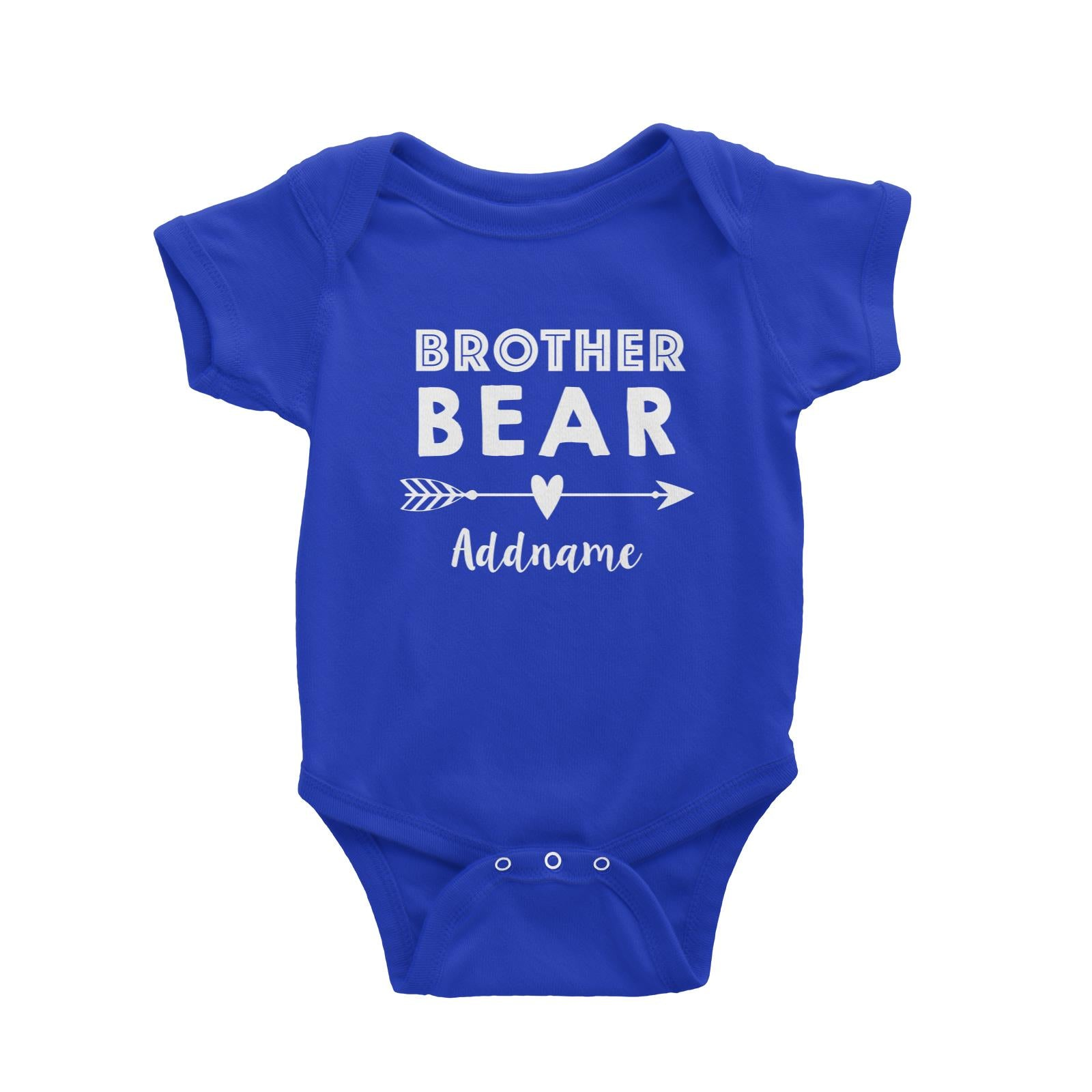 Brother Bear Addname Baby Romper  Matching Family Personalizable Designs