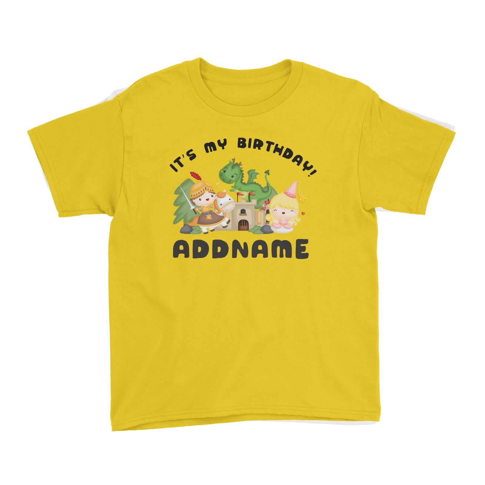 Birthday Royal Group It's My Birthday Addname Kid's T-Shirt