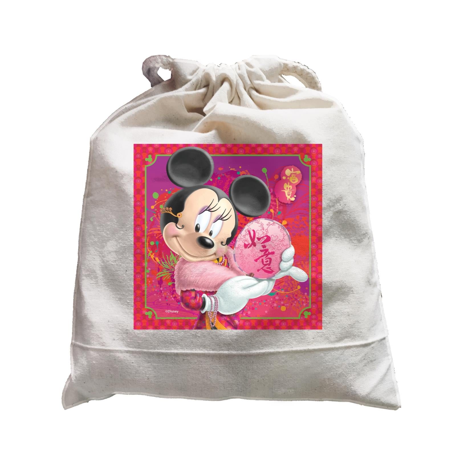 Disney CNY Minnie With Fan Non Personalised SAT Satchel
