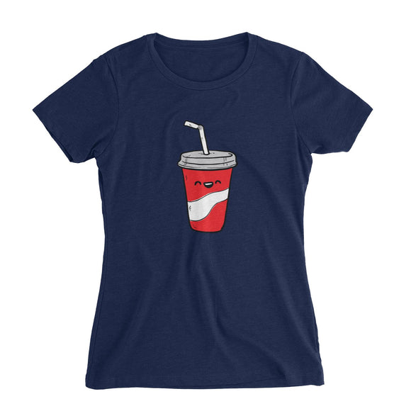 Fast Food Coke Women's Slim Fit T-Shirt  Matching Family