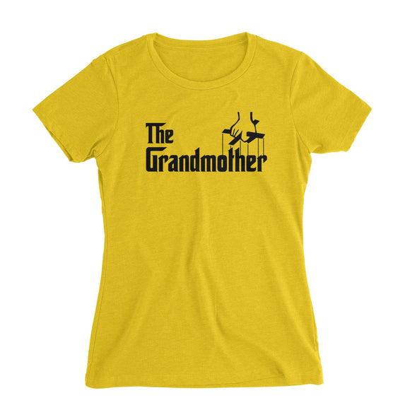 The Grandmother Women's Slim Fit T-Shirt Godfather Matching Family