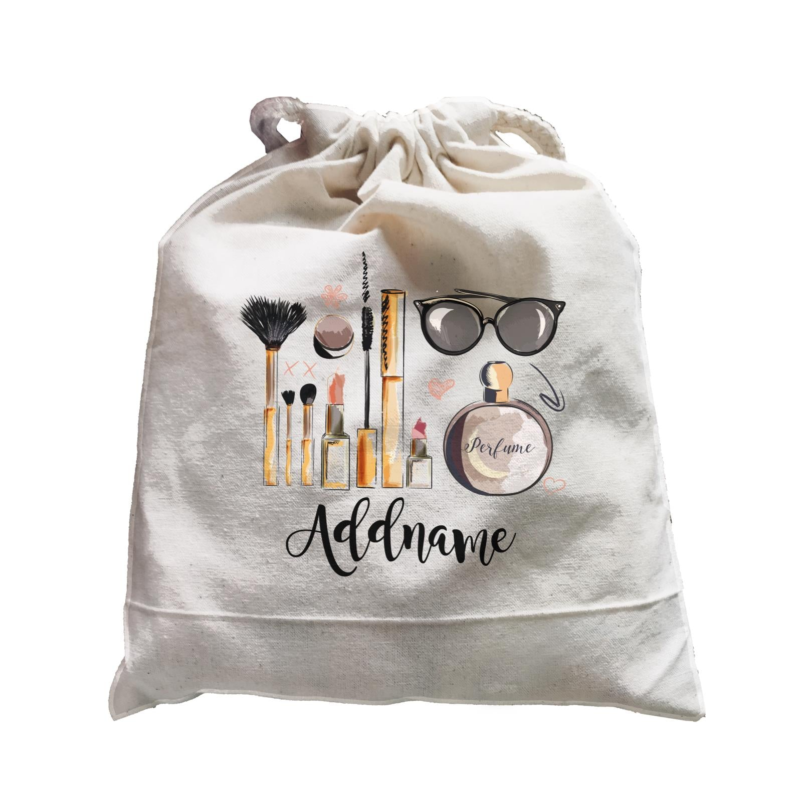 Make Up Quotes Beauty Kit Addname Satchel