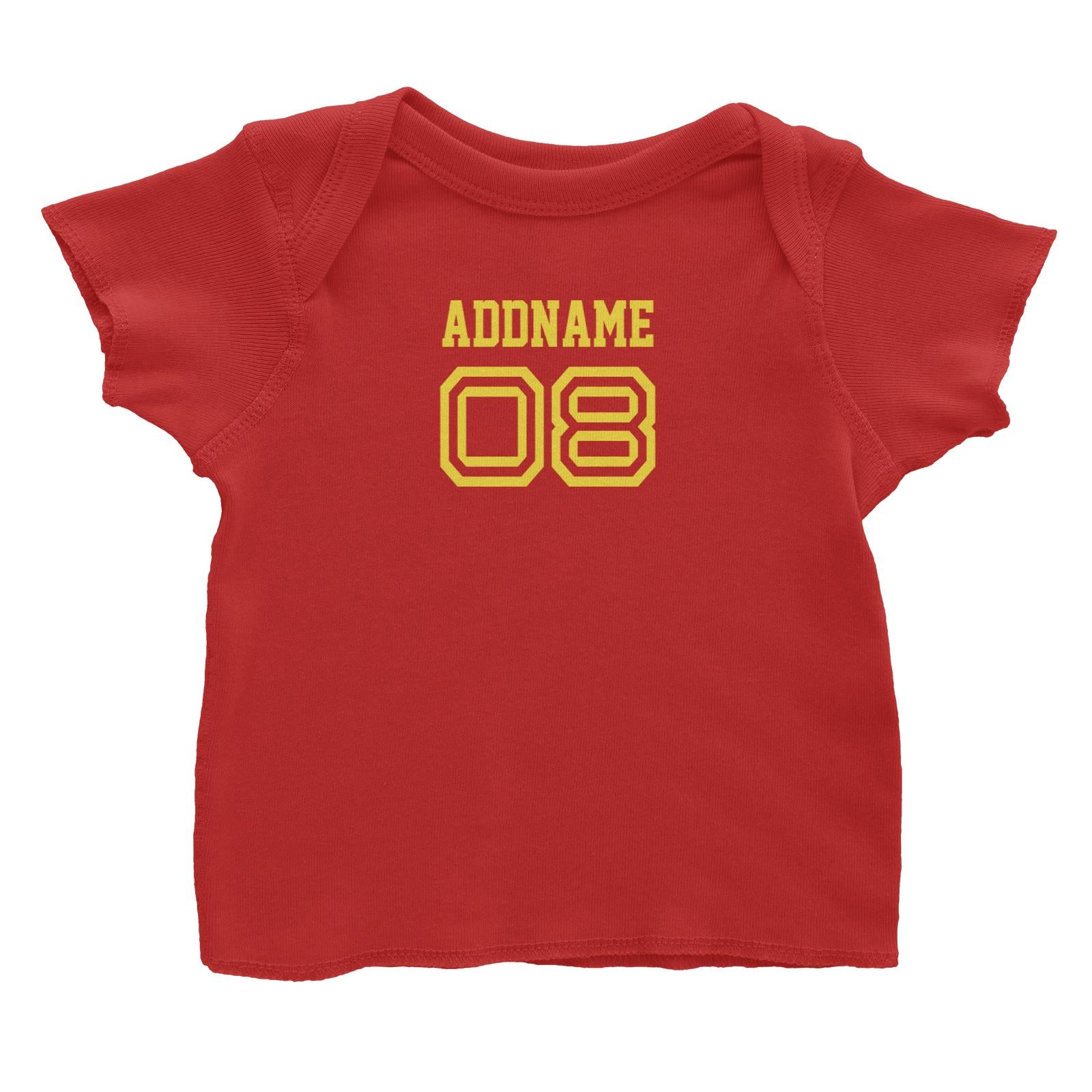 Name Number Family Addname Baby T-Shirt