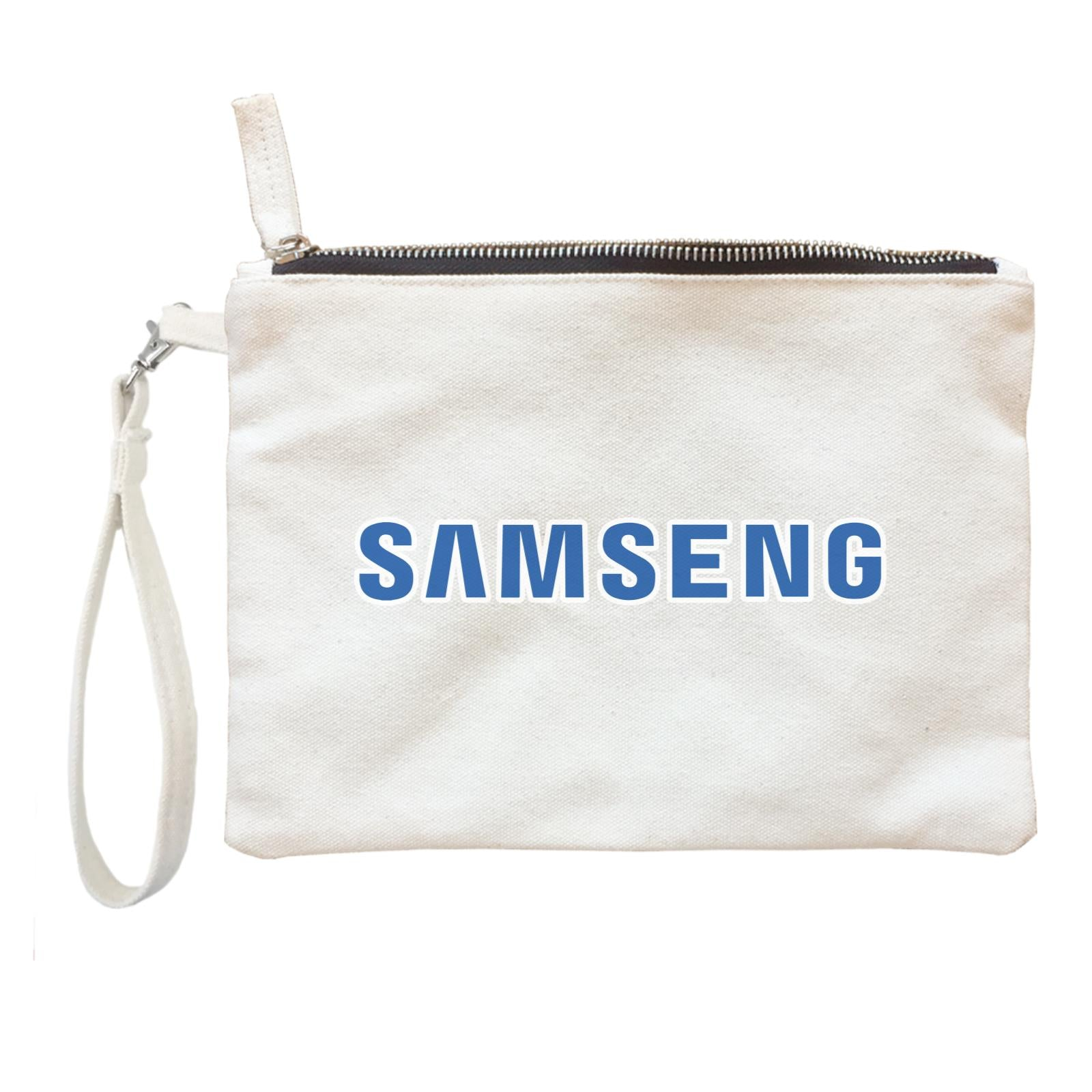 Slang Statement Samseng Accessories Zipper Pouch with Handle
