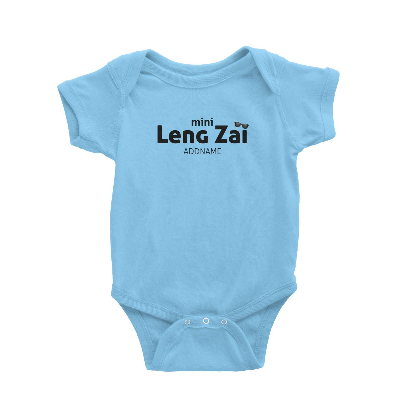 Mini Leng Zai with Sunnies Baby Romper