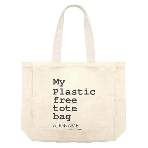 My Plastic Free Grocery Bag Addname Shopping Bag
