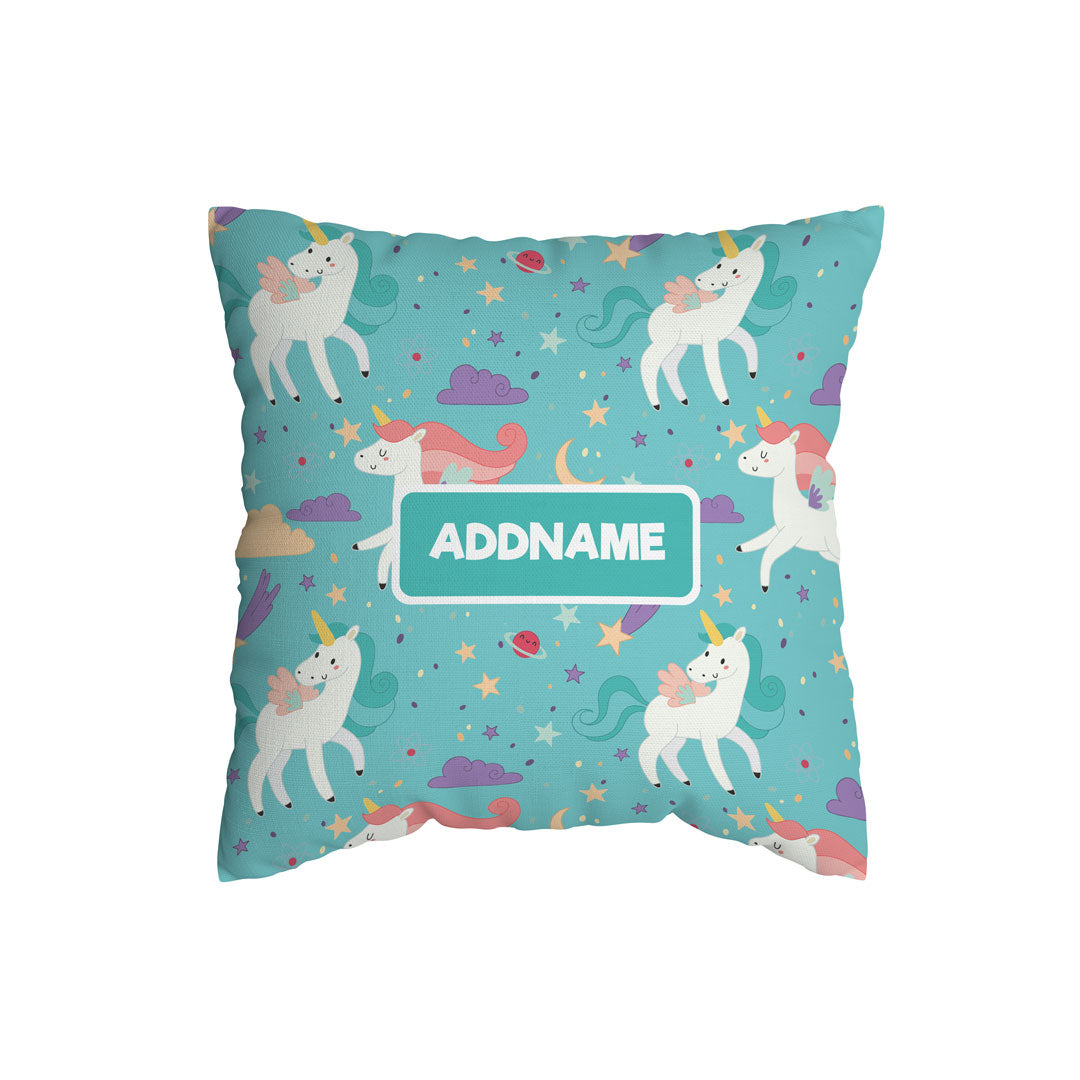 Fabulous Unicorn Kiddies Full Print Cushion Cover with Inner Cushion