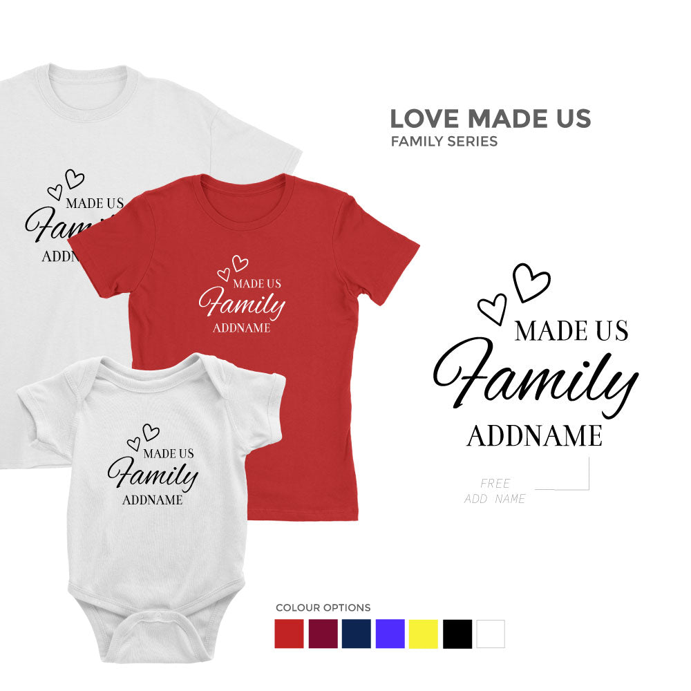 My Lovely Family Series Matching Family T-Shirt