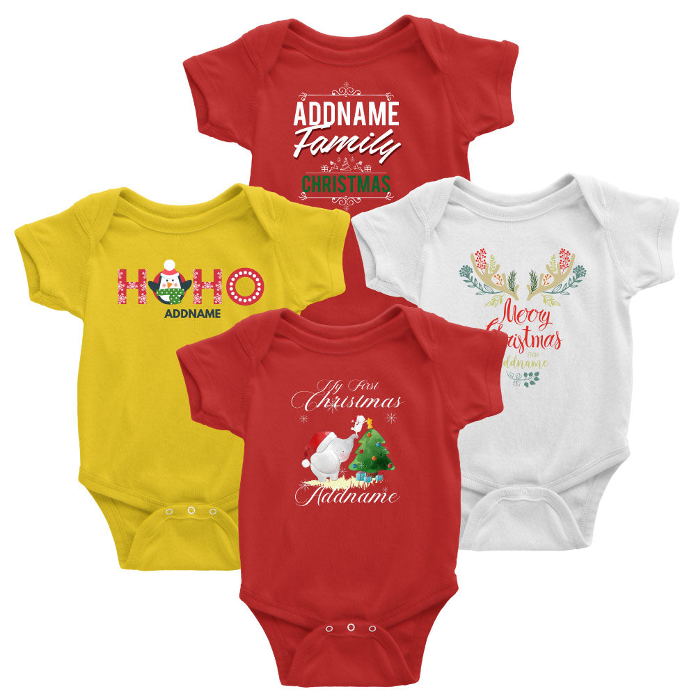 Christmas Cute Cartoon Family Matching Clothing