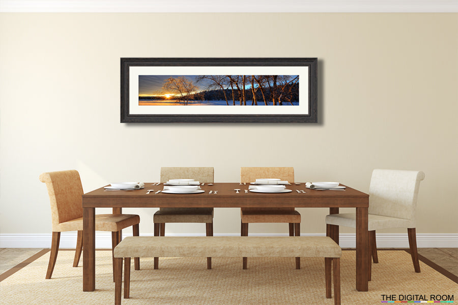 How to create panoramic prints from your photos and images