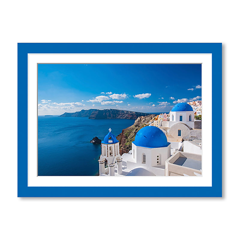 Landscape Colour Splash Premium Framed Print example