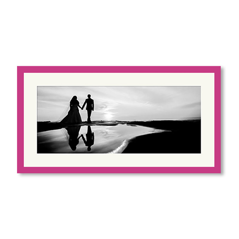 Panoramic Colour Splash Premium Framed Print example