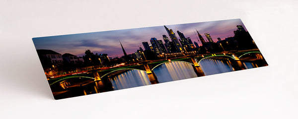 HD Gloss Aluminium Print example