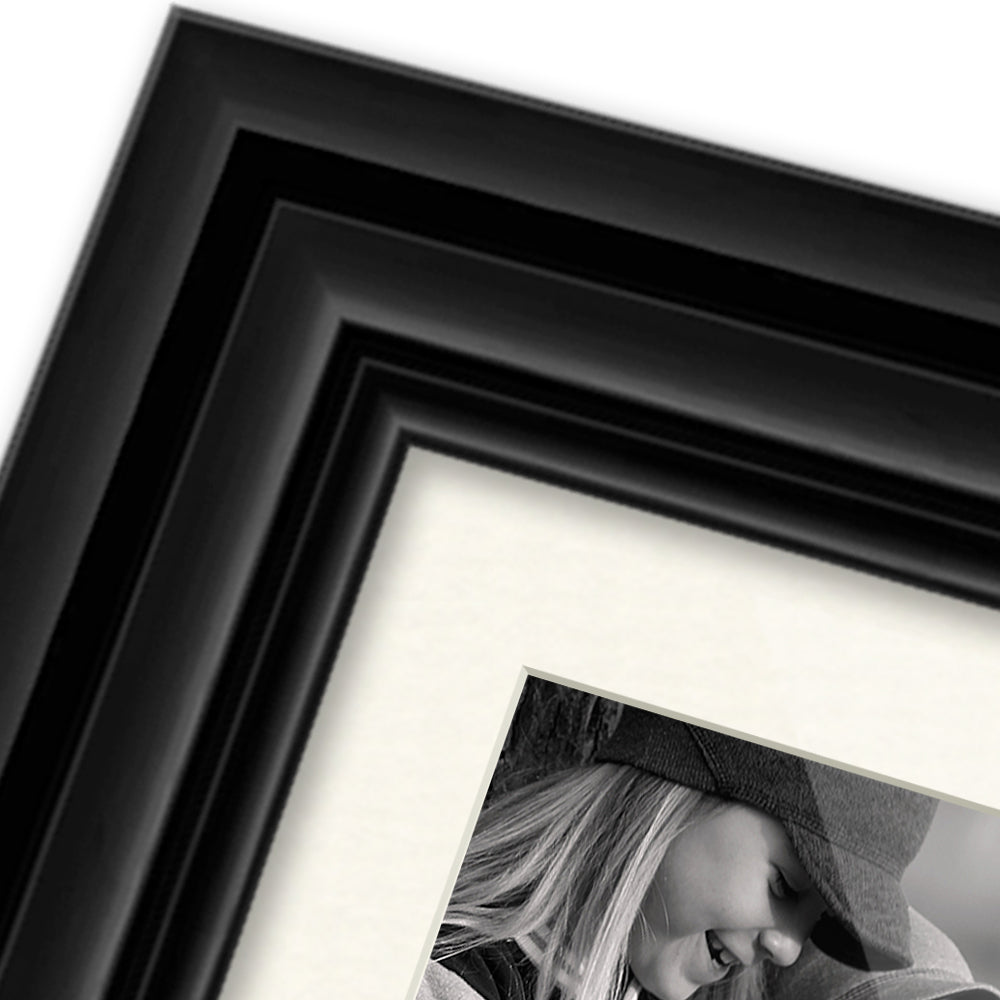 Layered - Gloss Black frame example