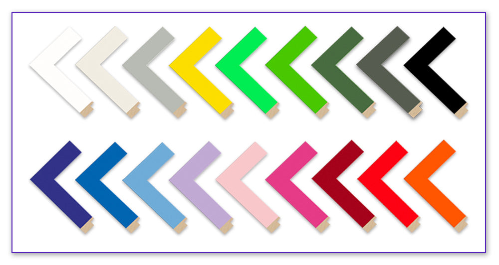 Colour Splash Moulding Chevrons
