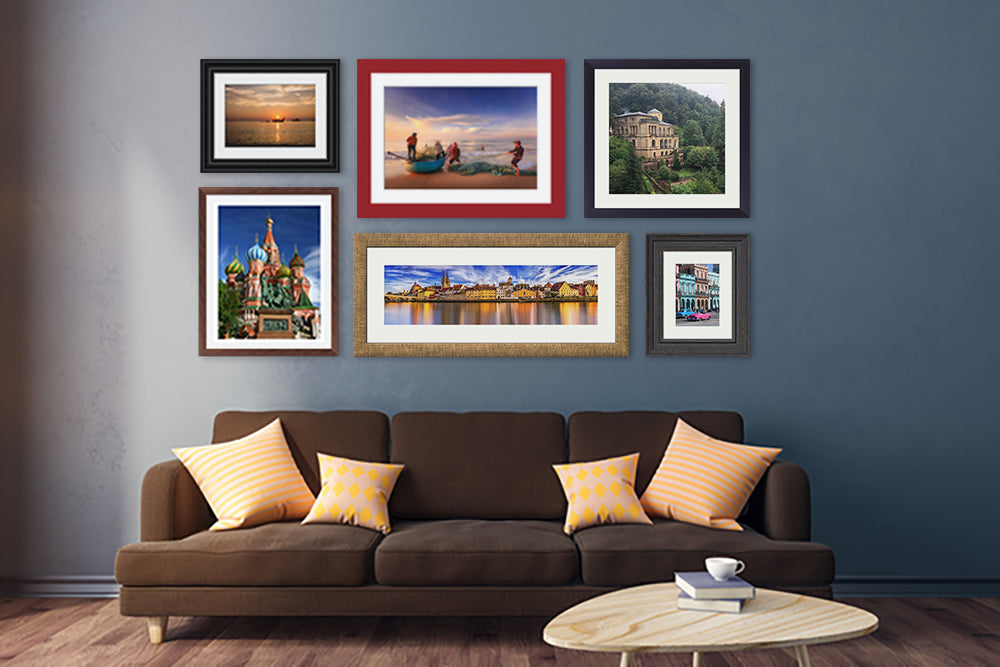 The Digital Room Framed Prints displayed on wall