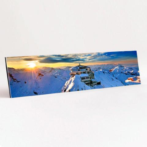 Panoramic Format Gloss Acrylic print example