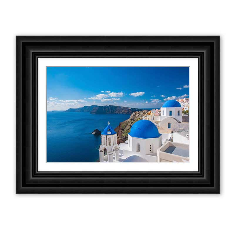 Landscape Layered Premium Framed Print example