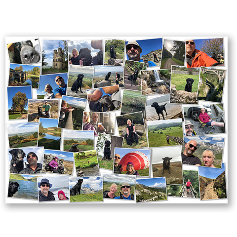 Landscape Photo Board Montage