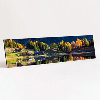 Panoramic Format Metallic Acrylic print example