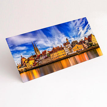 Panoramic Format HD Gloss Aluminium print example