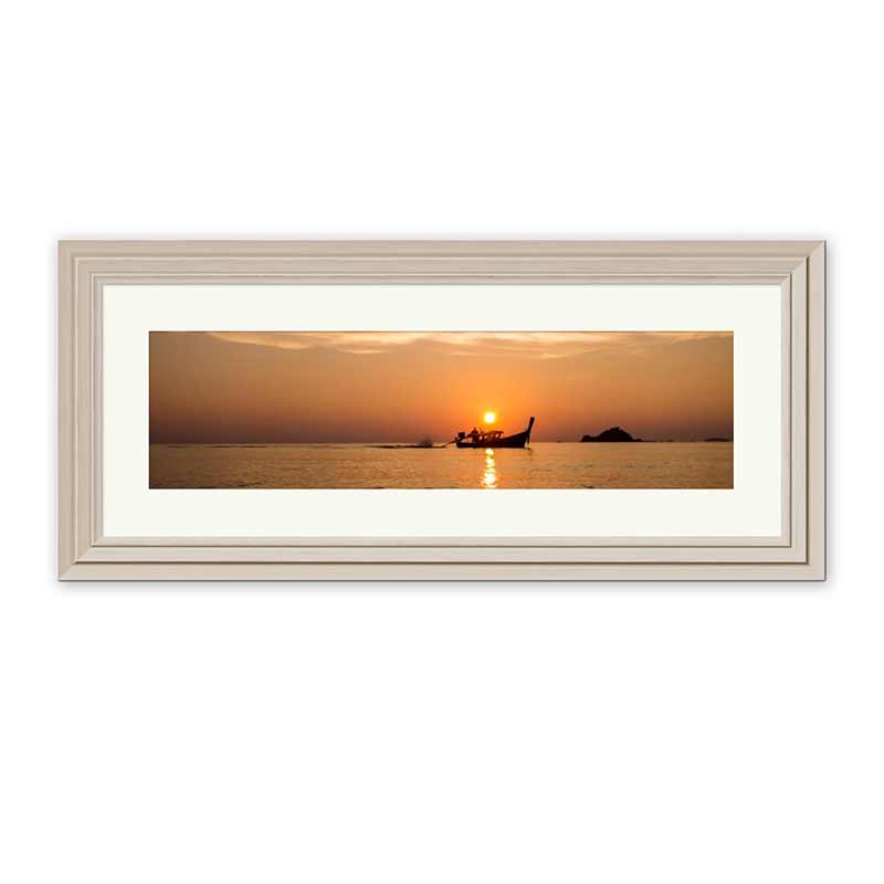 Panoramic Layered Premium Framed Print example