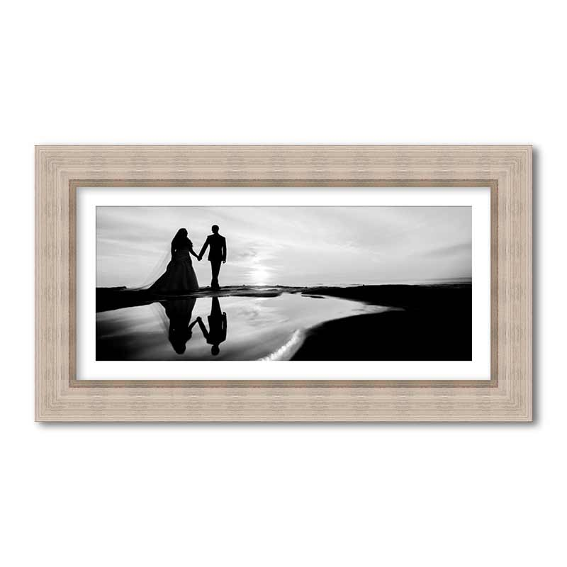 Panoramic Rustic Premium Framed Print example