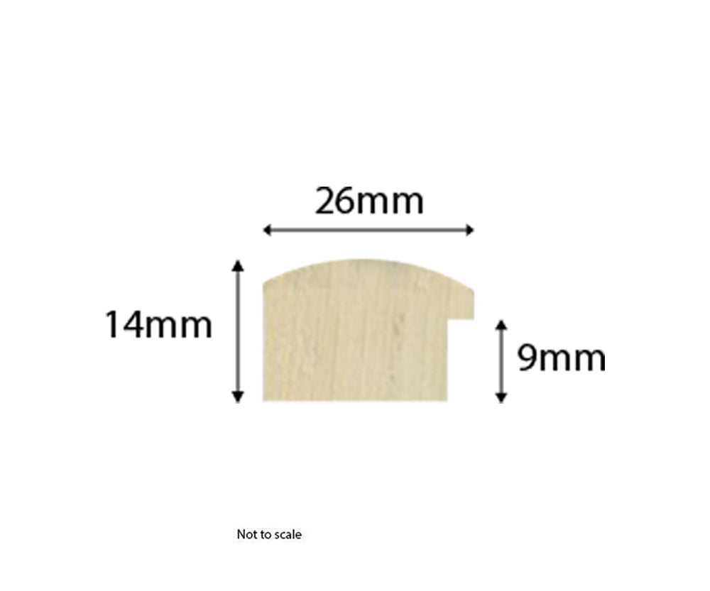 Perfect Gloss Slim Moulding dimensions