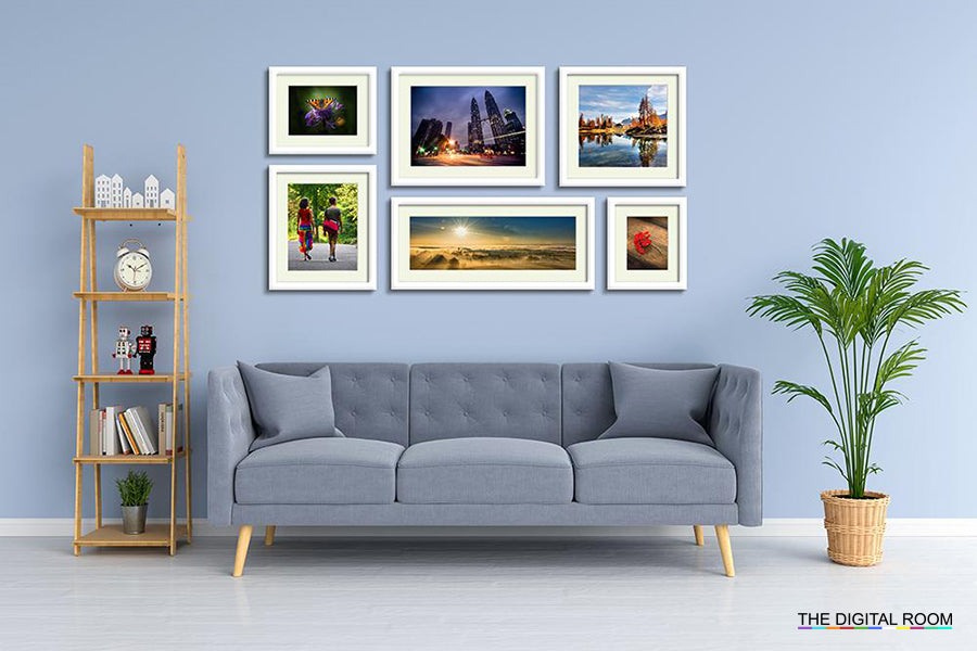 Perfect Gloss - Slim Premium Framed Prints displayed in room preview.