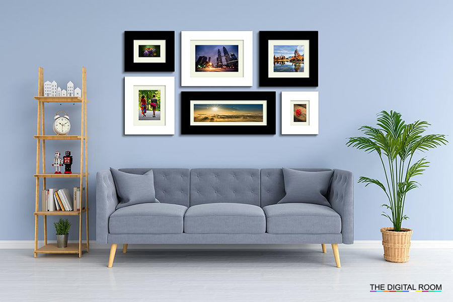 Perfect Gloss - Wide Premium Framed Prints displayed in room preview.