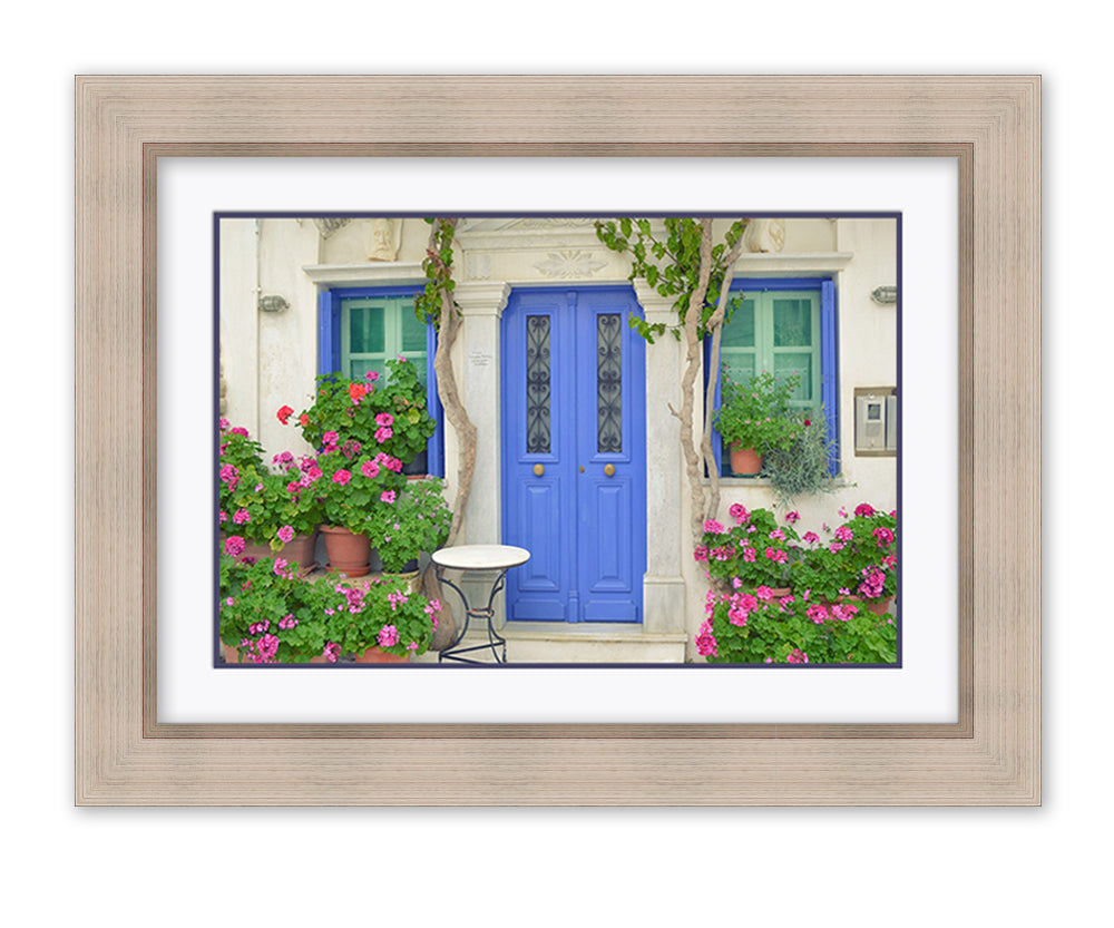 Rustic frame with double mount example