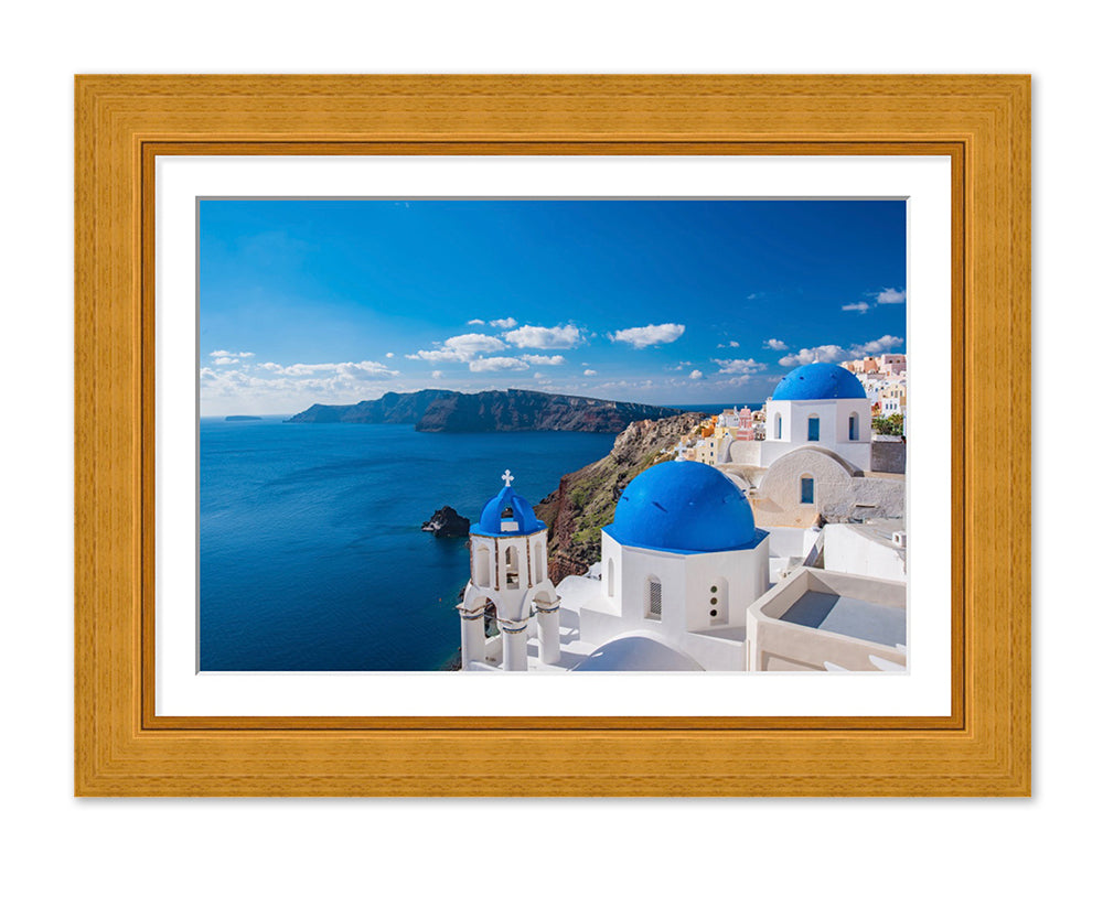 Rustic frame with single mount example