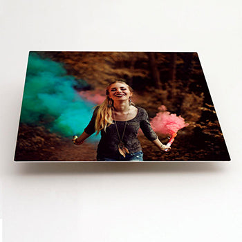 Square Format HD Gloss Aluminium print example