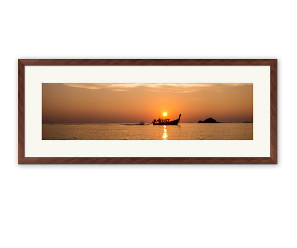 Brushed Metallics Framed Print example