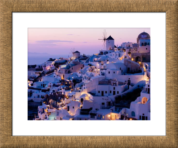 Aged Metallics Framed Print example 2